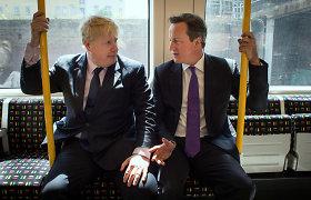 """Buvęs JK lyderis D.Cameronas: B.Johnsonas """"Brexit"""" parėmė dėl karjeros"""