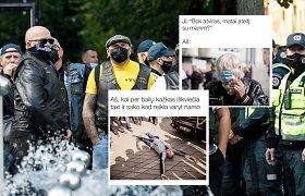 """Neapykantą prieš """"Kaunas Pride"""" dalyvius demonstravę asmenys tapo memų herojais"""