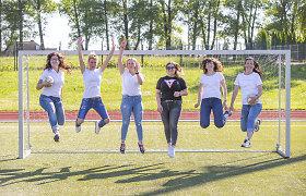 """Aktyvios mamos iš Širvintų subūrė futbolo komandą: """"Svajonių turime labai daug"""""""