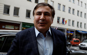 M.Saakašvilis: Sakartvelo opozicija tęs kovą, kol bus paskirti nauji rinkimai
