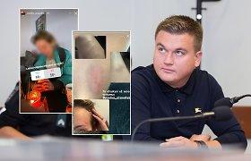 Paulius Aršauskas vėl kaltinamas smurtu: mylimoji paviešino įrodymus ir konflikto detales