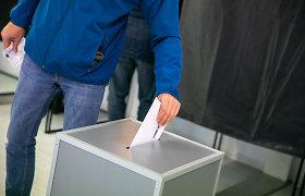 Opozicijos atstovai vėl registravo Konstitucijos pataisą dėl tiesioginių merų rinkimų