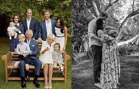 Karališkoji šeima pasveikino princą Harry ir Meghan Markle su Lilibet gimimu