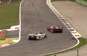 """""""Ferrari FXX K"""" lenktynių trasoje primena formules"""