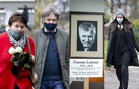 Kompozitorių sąjungos namuose prasidėjo atsisveikinimas su Faustu Latėnu