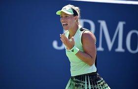 """Po """"US Open"""" – pokyčiai WTA tenisininkių trenerių štabe"""