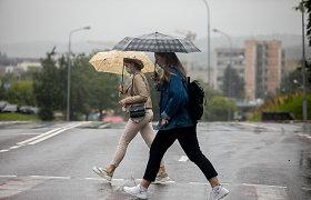 Savaitgalio orai: šiluma po truputėli trauksis, daug kur palis