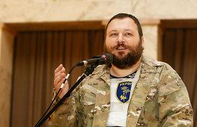 Ukrainos savanorių vadas E.Dykyjus: pralaimėjus informacinį karą teks lakstyti su automatais