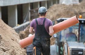 Už nelegalius darbuotojus ir darbo saugos pažeidimus statybvietėse – 74 tūkst. eurų baudų
