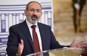 Armėnijos premjeras Kalnų Karabacho konfliktą laiko neišspręstu