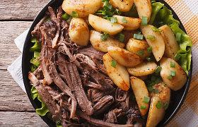 3 patiekalai iš kiaulienos mentės: išbandykite plėšytą, virkite sriubą ar guliašą
