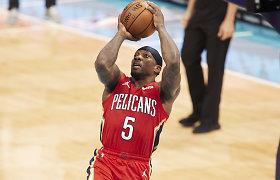 Trys už vieną: NBA naktis pažymėta žinomų veteranų mainais