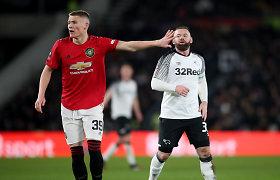 """Paskutinis FA taurės ketvirtfinalio dalyvis – W.Rooney klubą sutriuškinęs """"Man Utd"""""""