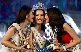 """Tailande 19-ąjį kartą vyko transvestitų grožio konkursas """"Miss Tiffany's Universe 2016"""""""