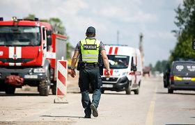 Sodyboje Kauno rajone policija rado sprogmenų