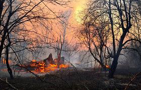Pietų Prancūzijoje plintant gamtiniam gaisrui evakuoti tūkstančiai žmonių