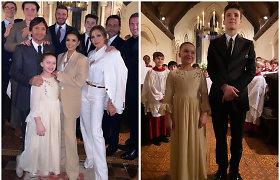 Victoria ir Davidas Beckhamai pakrikštijo savo jauniausias atžalas: į ceremoniją rinkosi žinomi draugai