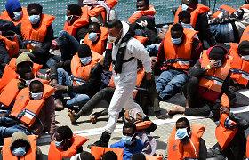 Per incidentą prie Libijos krantų nuskendo mažiausiai 57 migrantai