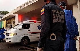 Venesueloje per stiprias liūtis žuvo 15 žmonių
