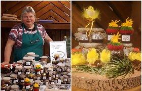 Pušų kankorėžių ir spyglių uogienes verdanti Rita ieško, kas priimtų jos dovanas