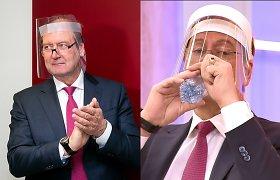 V.Uspaskicho išgarsinto vandens gamintojai paneigė sąsajas su jo skleista reklama
