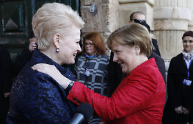 Gaivinama melagiena apie D.Grybauskaitės, Th.May ir A.Merkel jaunystės ryšį