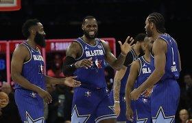 """NBA superžvaigždės kyla į kovą: nenori žaisti """"Visų žvaigždžių"""" rungtynėse"""