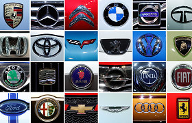 Testas prenumeratoriams: ar pažinsite šiuos 12 automobilių gamintojų iš jų logotipų?