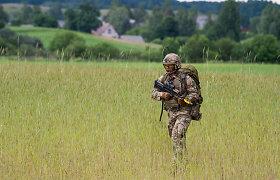Šiauliuose vyras ginklu grasino neuniformuotam JAV pajėgų kariui