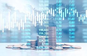 Europos akcijų indeksai kopia aukštyn, nepaisydami pasaulinės smukimo tendencijos