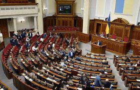 Ukrainos parlamentas priėmė įstatymą dėl ukrainiečių kalbos išskirtinio statuso