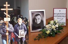 Klaipėdoje į paskutinę kelionę išlydėtas Eugenijus Ostapenko: laidotuvėse – šeimos nariai ir bičiuliai