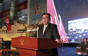 JT ataskaitoje įspėjama apie Šiaurės Korėjai gresiantį badmetį