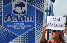 """Baltarusijoje sulaikyti keli """"Grodno Azot"""" streikų komiteto nariai"""