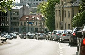 Klaipėdos rajone eismo sąlygas sunkina rūkas