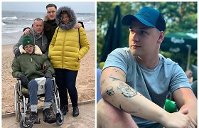 """Sunkiai sergančiam broliui pagalbos ieškantis Nerijus Liubertas: """"Negalios nereikia gėdytis"""""""