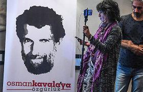 Turkija iškvietė dešimt Vakarų ambasadorių dėl raginimo paleisti aktyvistą