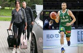 Lukas Lekavičius su mylimąja Melina dukrai suteikė graikų kilmės vardą