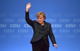 """""""The Times"""" Metų žmogumi paskelbė Angelą Merkel"""