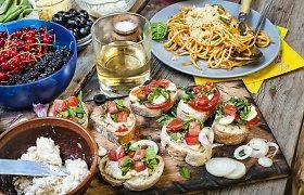 5 itališki produktai, kurių verta turėti virtuvėje: idėjos, ką su jais ruošti