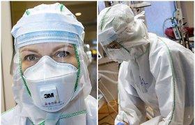 Atviras slaugytojos pasakojimas iš raudonosios COVID-19 pacientų zonos: turime elgtis kaip išminuotojai