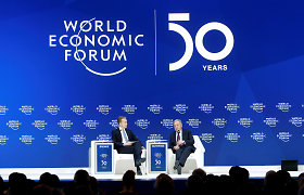 Pasaulio ekonomikos forumas nukeltas į rugpjūčio mėnesį