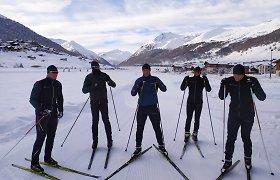 Italijos kalnų kurorte 8 lietuviai pluša trasose ir nepasigenda pas rusus išvykusio trenerio