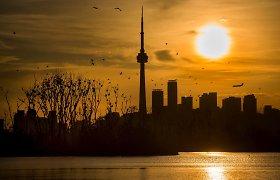 Kanados centrinis bankas išlaikė 0,25 proc. bazinę palūkanų normą