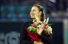 Didžios ir kontroversiškos karjeros pabaiga: Marija Šarapova traukiasi iš teniso