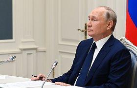 V.Putinas: Rusijos ekonomika 2021-aisiais augs 4 proc.