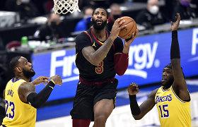 """""""Cavaliers"""" ieško, kam perleisti centrą: A.Drummondu domisi """"Nets"""" ir """"Mavericks"""""""