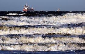 Juodojoje jūroje nuskendus Estijos bendrovės laivui žuvo mažiausiai du įgulos nariai