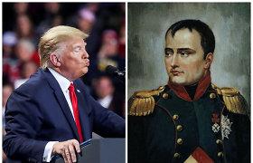 Paralelės tarp D.Trumpo ir Napoleono – kai karštakošiški veiksmai pranašauja galą