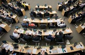 Seime stringa pakartotinis balsavimas dėl urėdijų reformos įstatymo